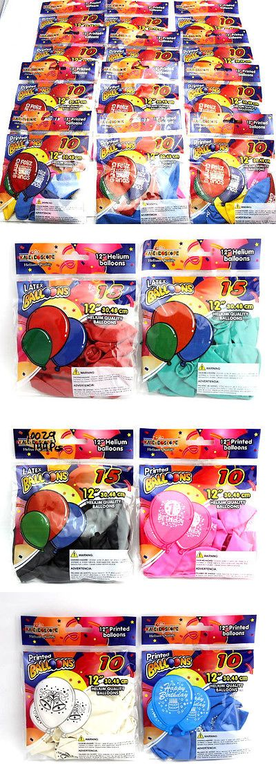 Balls and Balloons 145987: 1440 Pcs Helium Quality 12 Printed Balloons Feliz Cumple Anos Latex Balloon -> BUY IT NOW ONLY: $79.99 on eBay!