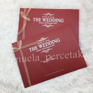 Cetak Kartu Undangan Pernikahan di Tasikmalaya 081322349644: Kartu Undangan Hardcover Getha & Asep // 081322349...