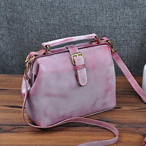d9ec32ac3c6 Women Leather Doctors Bags Purses   Handmade Leather Women Shoulder ...