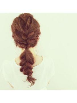 【PuraVida】ロング×編みこみツイストアレンジ♪by長澤 - 24時間いつでもWEB予約OK!ヘアスタイル10万点以上掲載!お気に入りの髪型、人気のヘアスタイルを探すならKirei Style[キレイスタイル]で。