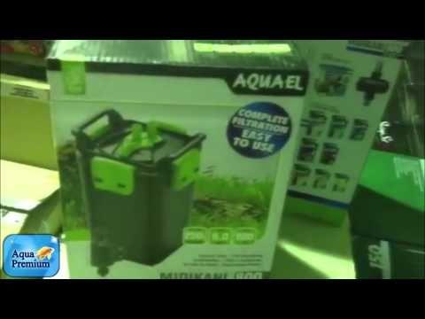 The aquael midikani 800 is perfect for turtle tanks and sel