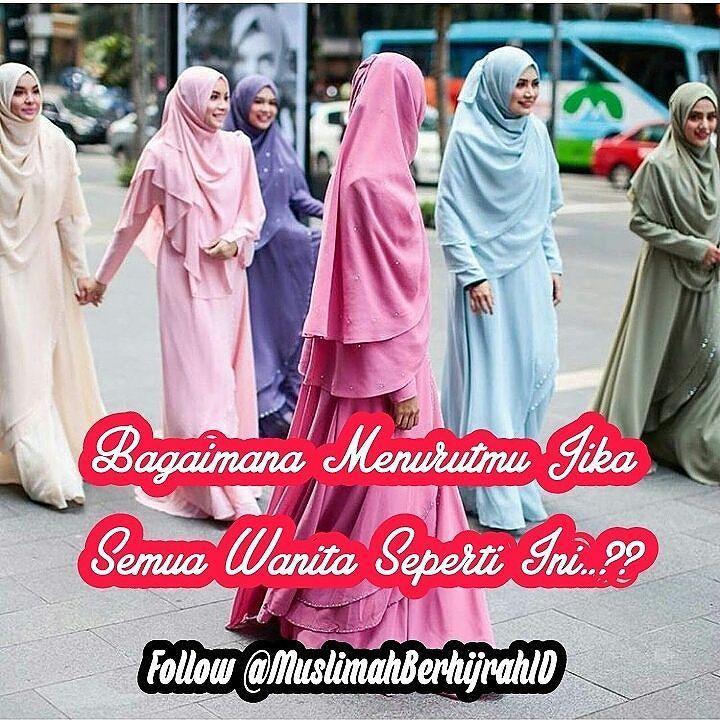 Bagaimana Menurutmu..?? .  Tag Sahabat-sahabat Tersayangmu  .  Follow @MuslimahBerhijrahID  Follow @MuslimahBerhijrahID  Follow @MuslimahBerhijrahID  . Karena #Muslimah Itu Istimewa http://ift.tt/2f12zSN
