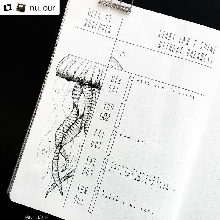 """Gefällt 1,327 Mal, 5 Kommentare - Bullet Journal features (@bujobeauties) auf Instagram: """"By @nu.jour   Tag your photos with #bujobeauty for a chance to be featured  ・・・ First week of…"""""""