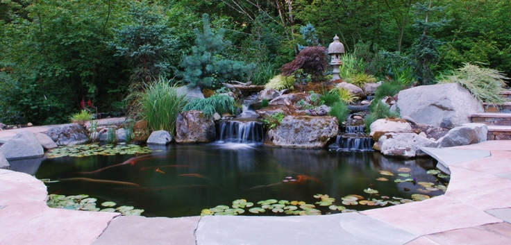 17 Best Images About How To Build A Pond Waterfall