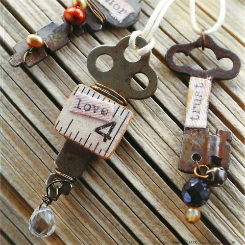.key necklace love love love this