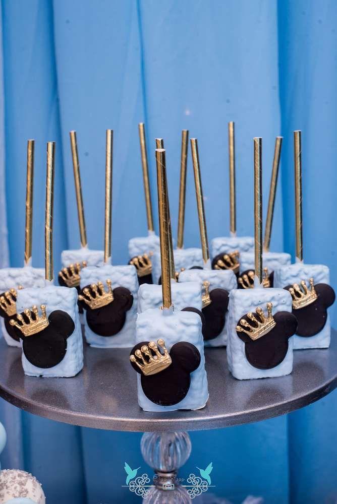 Prince Mickey Birthday Party Ideas