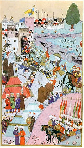 Siege of Belgrade (Nándorfehérvár) 1456 - Hünername — Wikipédia