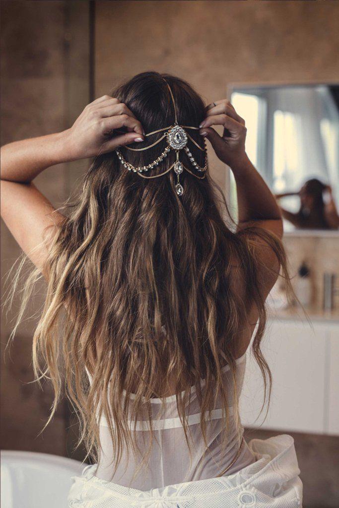 Best 25 Bohemian Headpiece Ideas On Pinterest Wedding