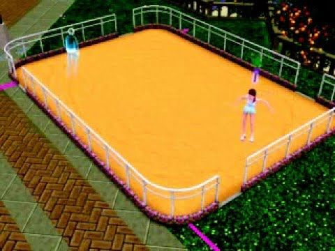 Die Sims3 - Geist beim Rollschuhlaufen