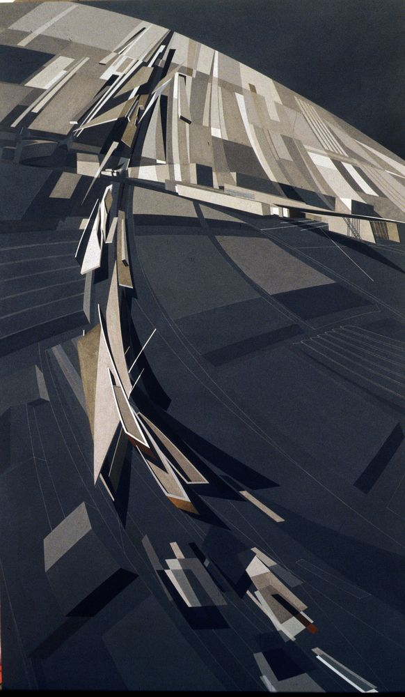 Gallery of The Creative Process of Zaha Hadid, As Revealed Through Her Paintings - 19
