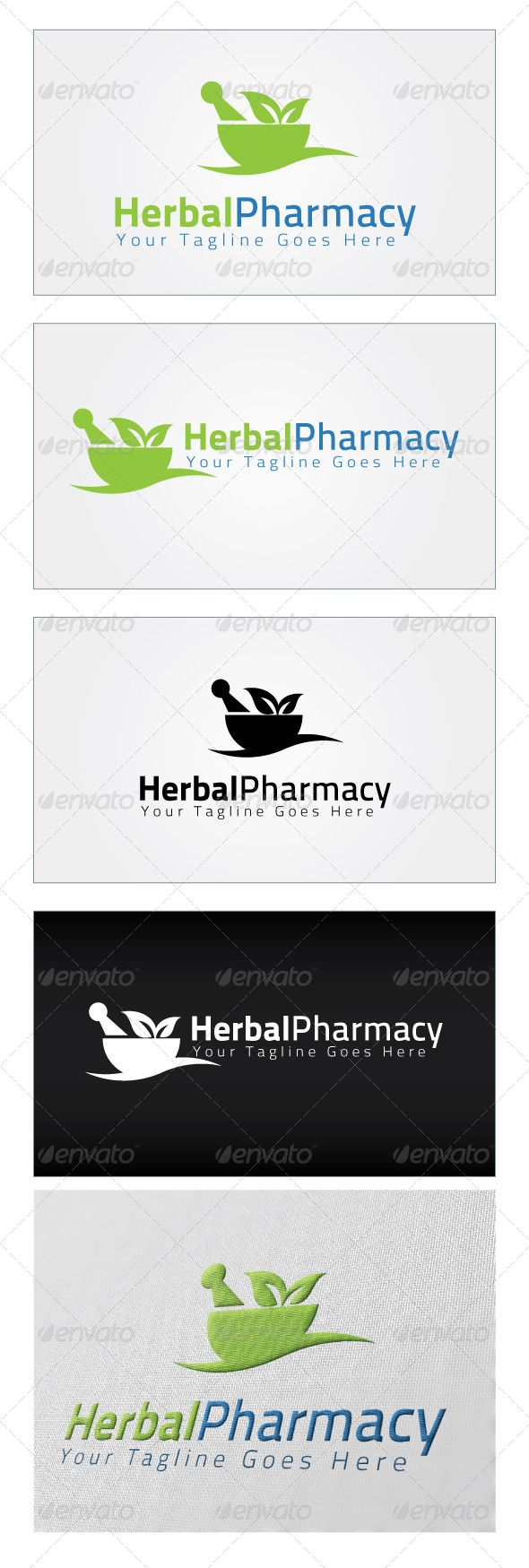 Herbal Pharmacy - Logo Design Template Vector #logotype Download it here: http://graphicriver.net/item/herbal-pharmacy-logo-template/5021989?s_rank=85?ref=nexion
