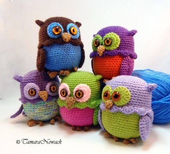 17 beste afbeeldingen over Crochet Amigurumi Owl op ...