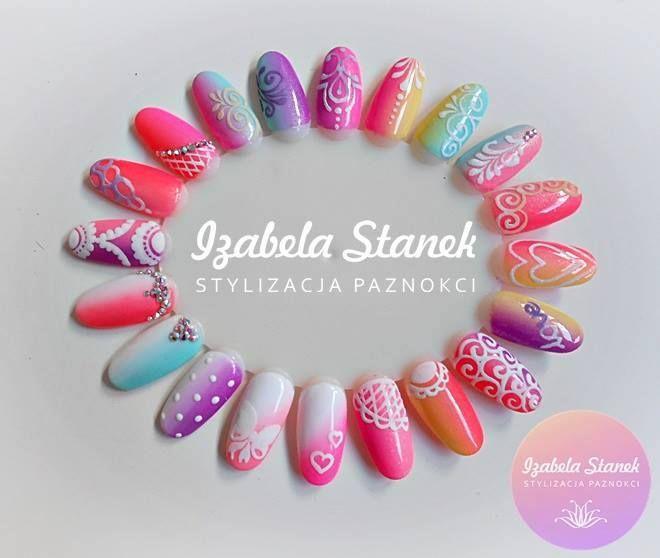 by Iza Stanek Indigo Nails Lab - Find more Inspiration at www.indigo-nails.com…