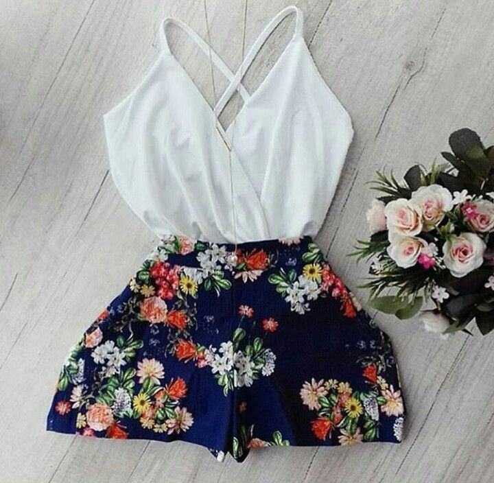Cute and light summer outfit!