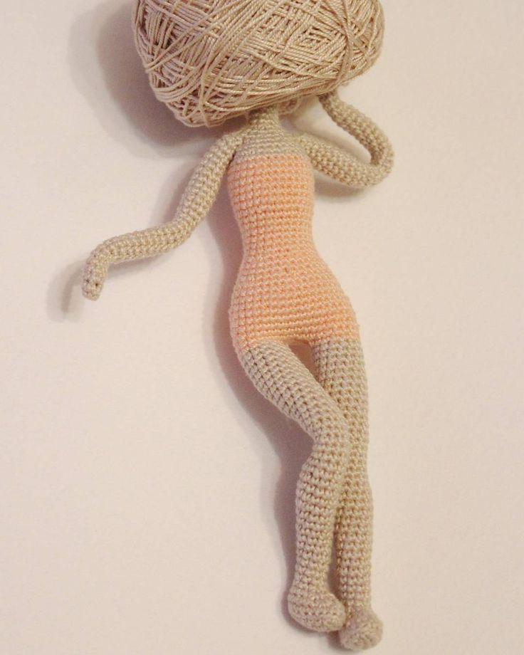 Рождение куколки...Кукол, конечно, вяжу очень редко. Но разве дочке откажешь)))…