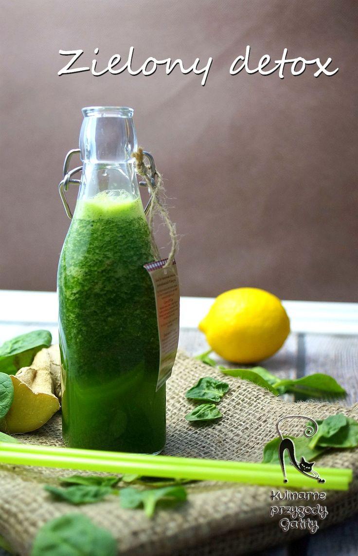 Kulinarne przygody Gatity: Wiosenny detox, czyli zielony koktajl