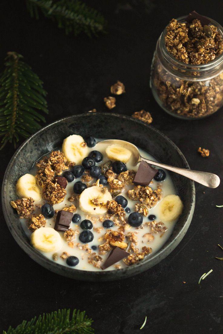 granola vegan granola granola chocolate granola healthy granola banana ...
