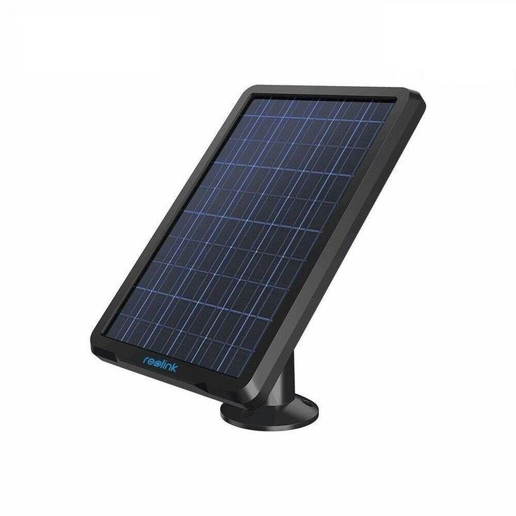 Reolink Solarpanel Fur Wireless Batteriebetriebene Ip Kameras Go Argus 2 Pt Eco Ip Kamera Uberwachungskameras Kameras