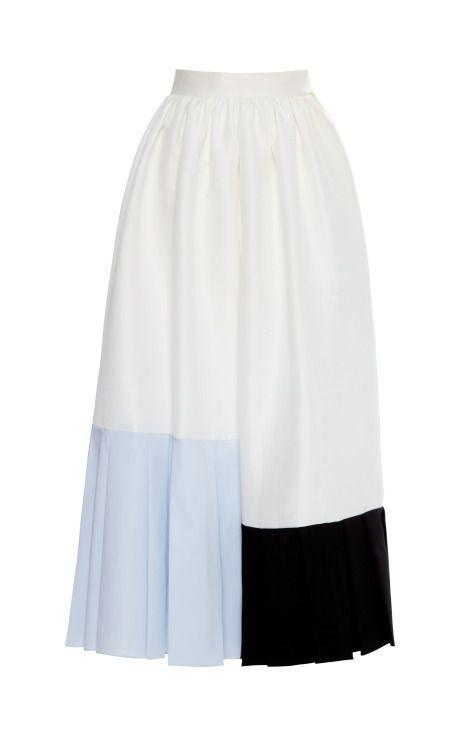 Shop Grey Harben Skirt by Roksanda Ilincic - Moda Operandi