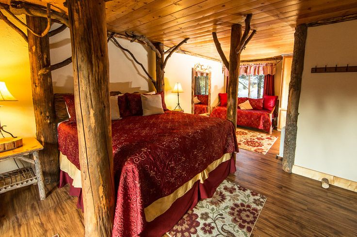 Arrowhead Pine Rose Cabins is a Lake Arrowhead vacation cabin resort w/ ponds, streams, pool, free wi-fi, BBQs, & rustic wedding venue
