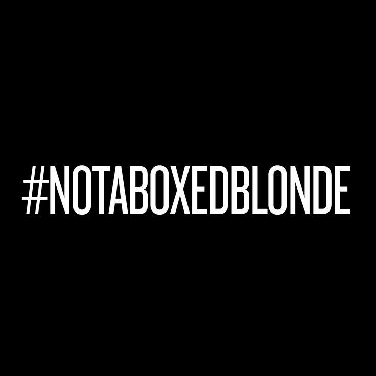 #notaboxedblonde - und keine Blondine ist wie die andere! Lass dich vom REDKEN Friseur in deiner Nähe beraten: http://www.redken.de/consumers/salon-finden