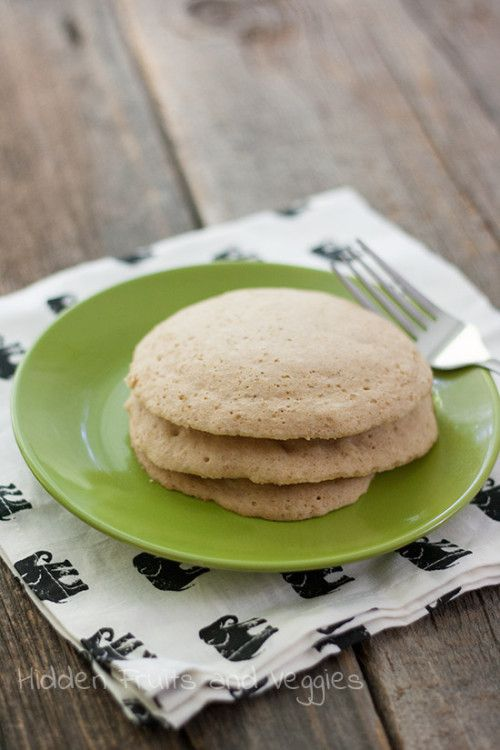 Microwave Pancakes - Recipe makes a mix that you can store in a glass jar. Decorate with some yarn and it makes a great gift for college students! #Vegan #wholegrain