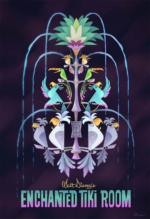 """Tiki Room"" by Bill Robinson"