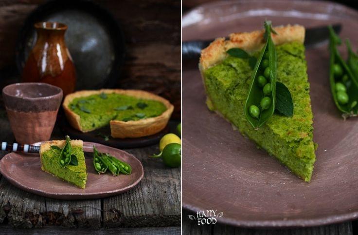 HAPPYFOOD - Тарт с зеленым горошком