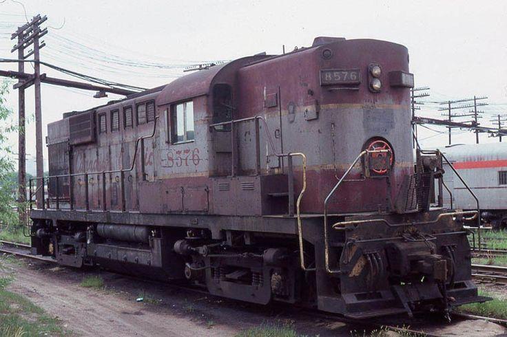 RS-10s 8576 MLW 81502 5/1956 Glen Yard, Montreal terminal. 6/1980 Kermit Geary Jr.