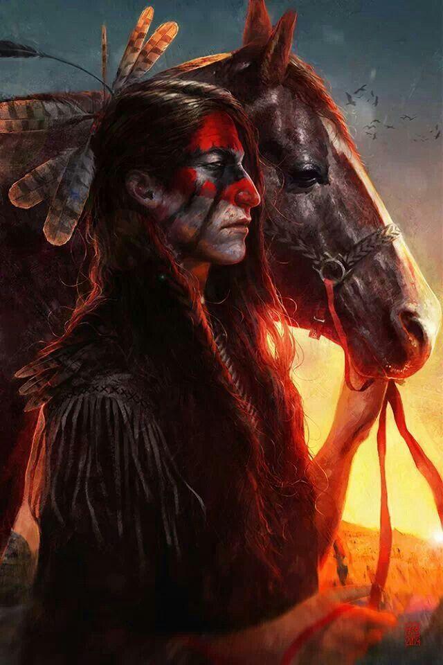 Картинки фэнтези с индейцами