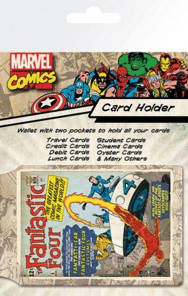 Marvel Fantastyczna Czwórka Retro - okładki na dokumenty i karty