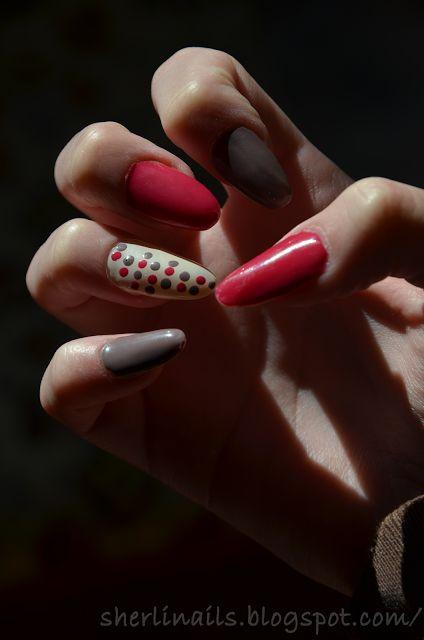 Nails Art by Sherlin: Trudne początki.