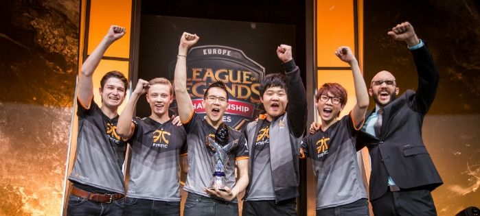 Despite scare, Fnatic drops Origen 3-2 to win the 2015 EU LCS Summer Split | LoL Esports