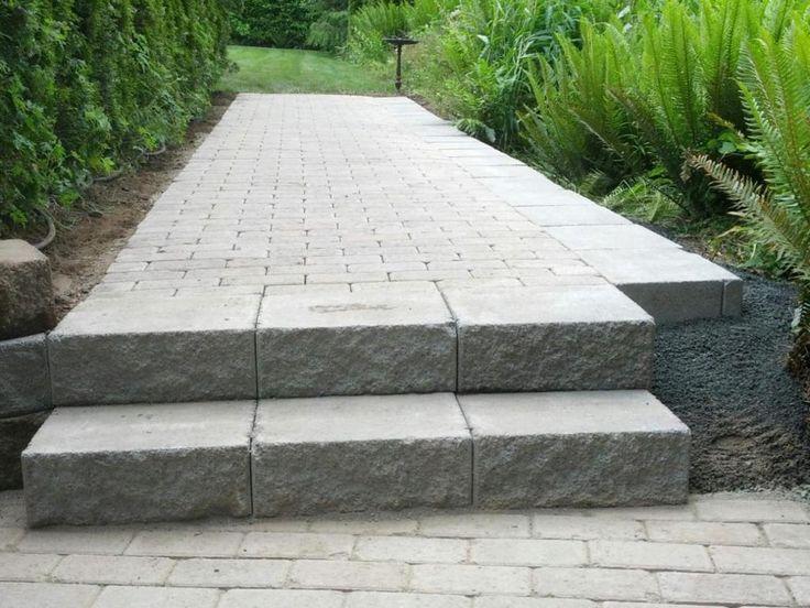 Paver Patio Steps Designs 189 Paver Patio Steps Design Plans