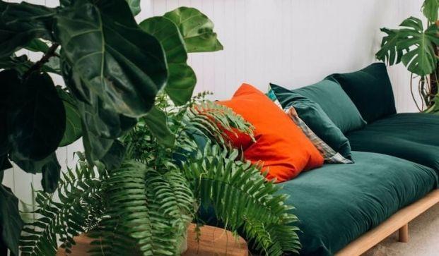 In deze Colorboost laten we je zien hoe je een bohemian look creëert met een frisse tint groen, diepblauw, tangerine en gouden details.