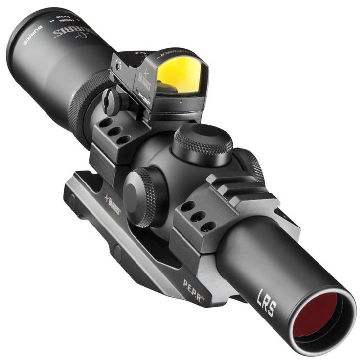 Burris® Fullfield TAC30 Tactical Riflescope with Fast Fire II Red Dot Reflex Sight and AR-P.E.P.R. Mount | Bass Pro Shops #reddotsight #shooting #riflescope