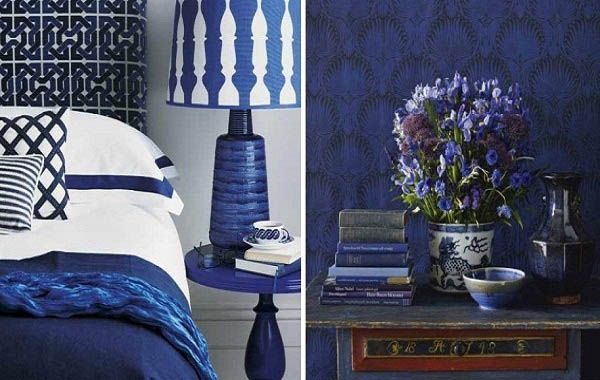 Sapphire Blue Room Colors, Deep Blue Color Combinations