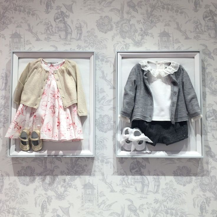 Baby Dior classic pieces from a mix of summer 2016 and fall with the dove grey print wallpaper