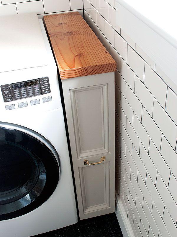 Área - ideia: solução para o canto da lavadora