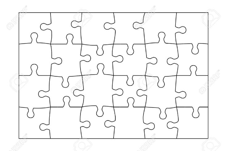 24 piece puzzle template  google search  teaching
