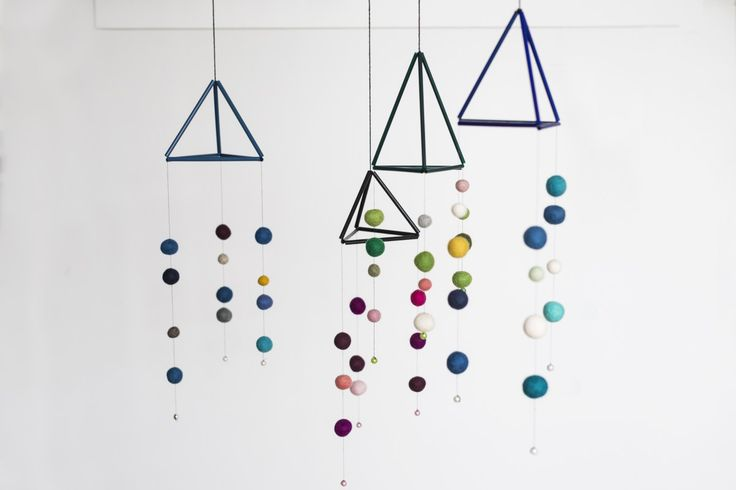 DIY – Mobile made from straws