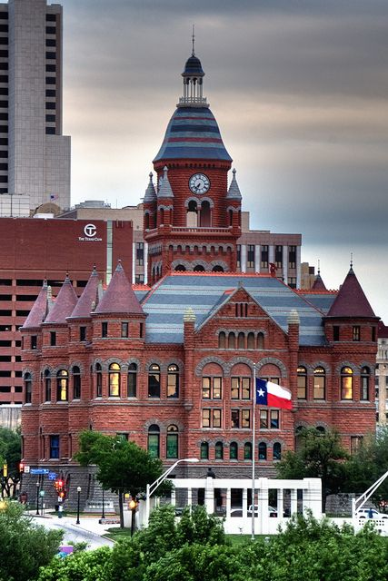 Former Dallas County Courthouse (1892) Dallas, Texas - now the Old Red Museum of Dallas County History and Culture