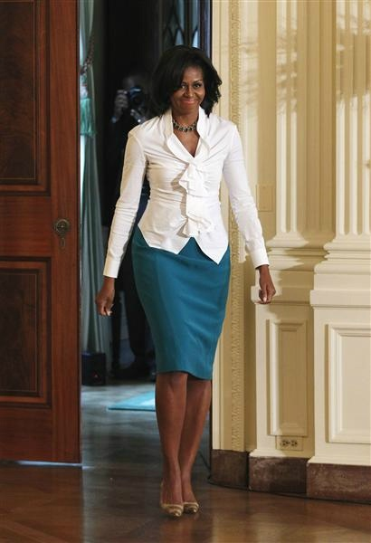 Michelle Obama: highly intelligent, educated, accomplished lawyer who also happens to be a hot mom and wife who works on national nutrition and overall health?- and she just so happens to be our First Lady? Hell yeah I admire her!
