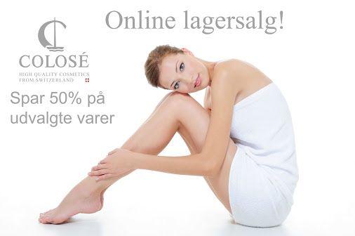 Rynkecreme, ansigtsmaske, bodylotion mm. Stort Lagersalg på Colosé.dk! Følg…