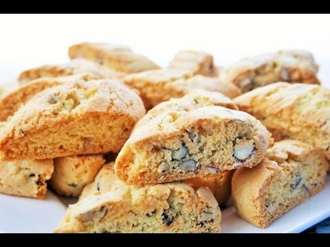 How to make biscotti (cantuccini)