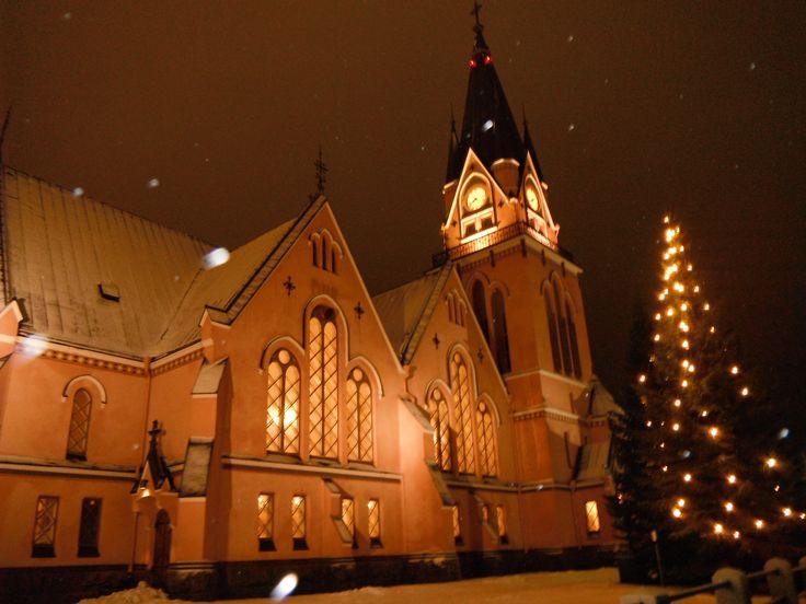 Kemi church at night - Google Search