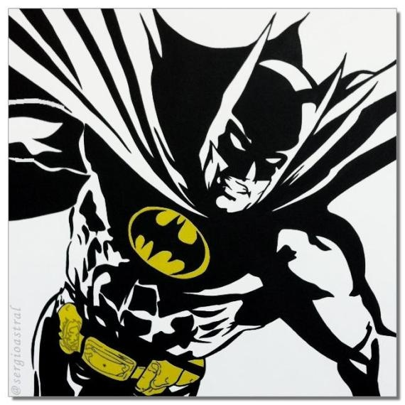 Batman quadro pop arte - R$380.00