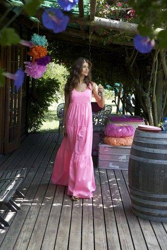 Schnittmuster: Hippie-Kleid - Oberteil gedoppelt - Maxi-Kleider - Kleider - Damen - burda style