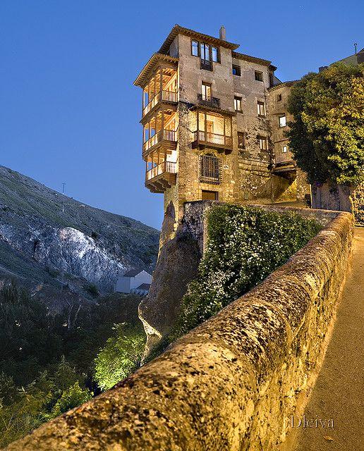 Las Casas Colgadas (Hanging houses): Cuenca, Spain