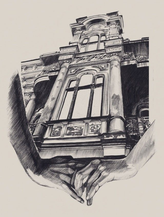 Architecture Drawings Dasha Pliska